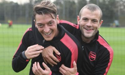 Jack Wilshere and Mesut Ozil