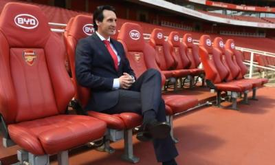 Arsenal Head Coach Unai Emery