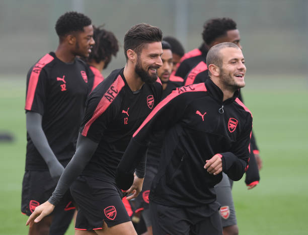 Olivier Giroud Indirectly Threatens Unai Emery On Letting Go Of Jack Wilshere