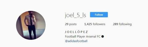 Joel Lopez Confirms His Move To Arsenal