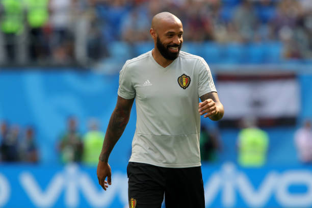 Belgium-assistant-coach-thierry-henry-looks-on-during-the-warm-up-to-picture-id998547904