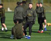 ST ALBANS, ENGLAND - DECEMBER 04: of Arsenal during a training session at London Colney on December 4, 2018 in St Albans, England. (Photo by Stuart MacFarlane/Arsenal FC via Getty Images)