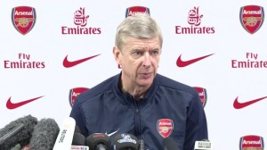 Arsene Wenger, Press Conference for Stoke City on 1st March 2014