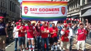 Gay Gooners make themselves heard