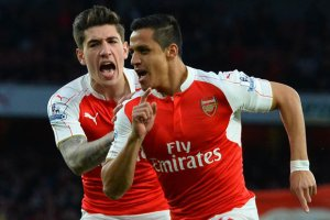 Alexis double eases Gunners to win over Baggies