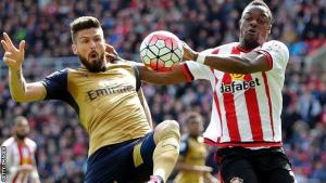 Arsenal and Olivier Giroud fire blanks at the Stadium of Light