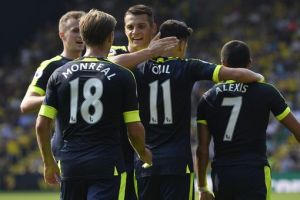 Arsenal earn first Premier League win of season (Photo Reuters)