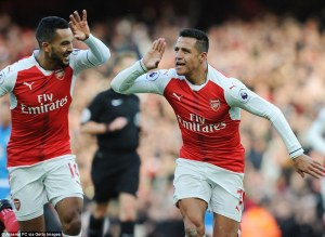 Alexis and Theo on target in Arsenal win