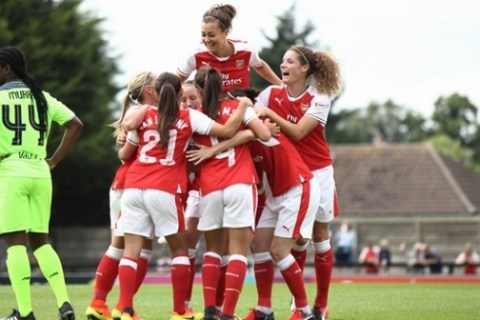 Arsenal Ladies face Notts County in FA Women's Super League Spring Series opener