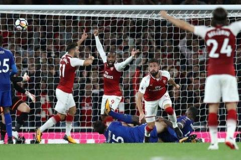 Arsenal beat Leicester City in seven goal thriller