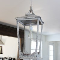 DIY Lantern Light Fixture