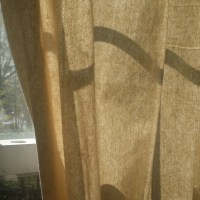 Fixer Upper Friday: Drop Cloth Curtains
