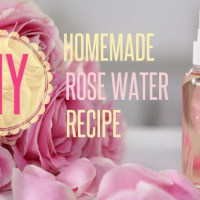 DIY Rose Water Toner Recipe---Spa Days at Home