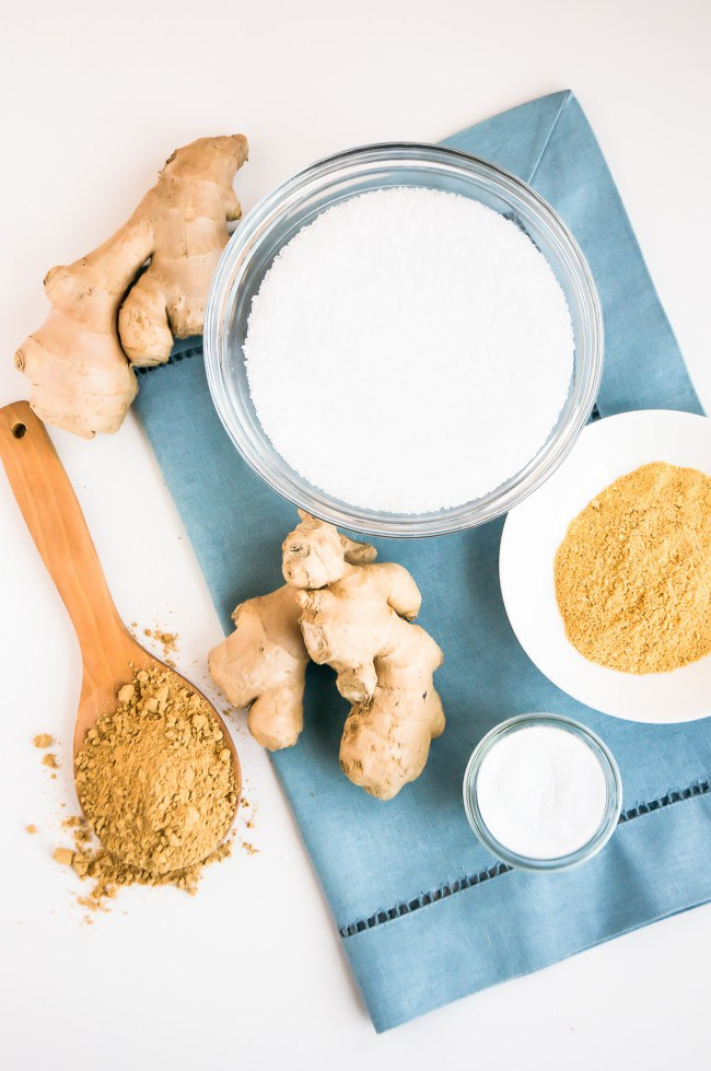 Ginger Detox Bath + Body Scrub