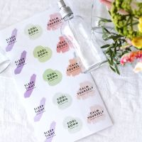 DIY Spring/Summer Face Mists with Printable Labels: Spa Days at Home