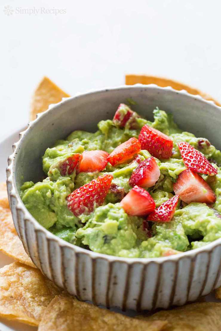 Try This---Fresh Fruit Guacamole