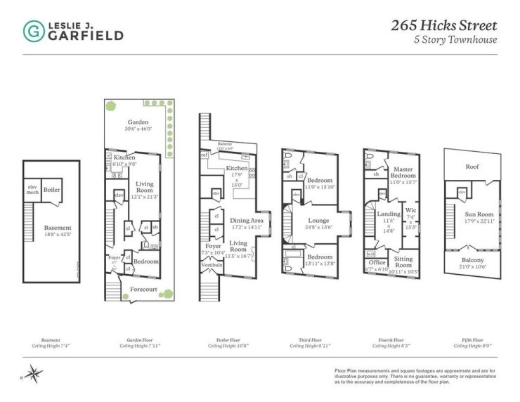 Hicks Street Floorplan