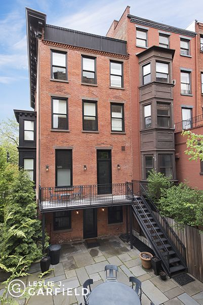 Hicks Street Garden Level and Balcony
