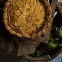 Try This---Salted Honey Apple Pie