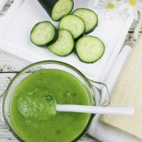 Homemade Cucumber and Mint Body Scrub---Spa Days at Home