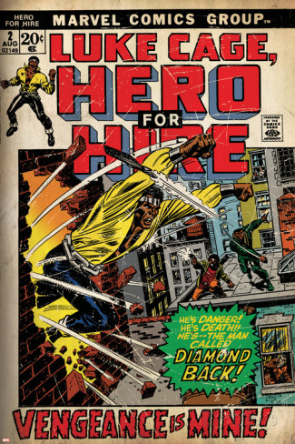 marvel-comics-retro-luke-cage-hero-for-hire-comic-book-cover-no-2-smashing-wall-aged