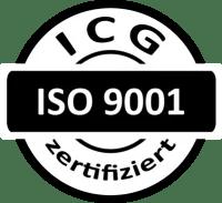 ISO 9001_schwarz-weiß ICG