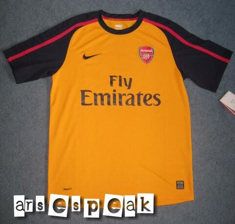 Arsenal Away Kit 08/09