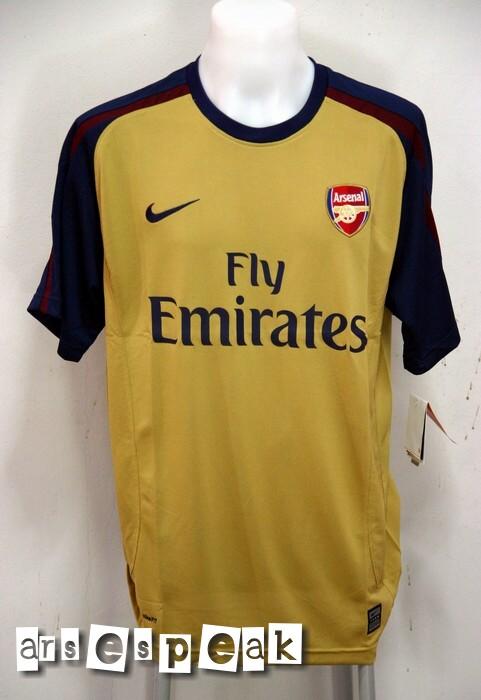 Arsenal Away Kit 0809
