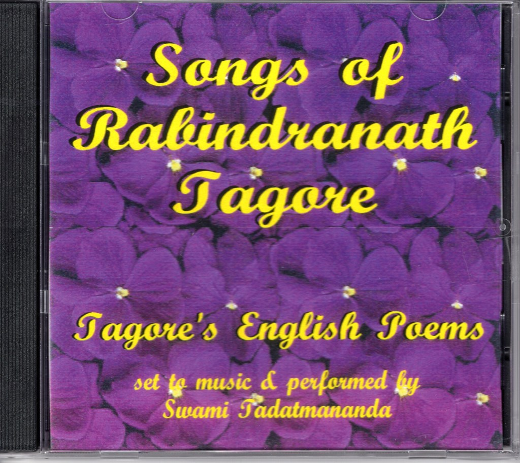 songs of rabindranath tagore CD