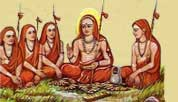 shankaracharya with students 1
