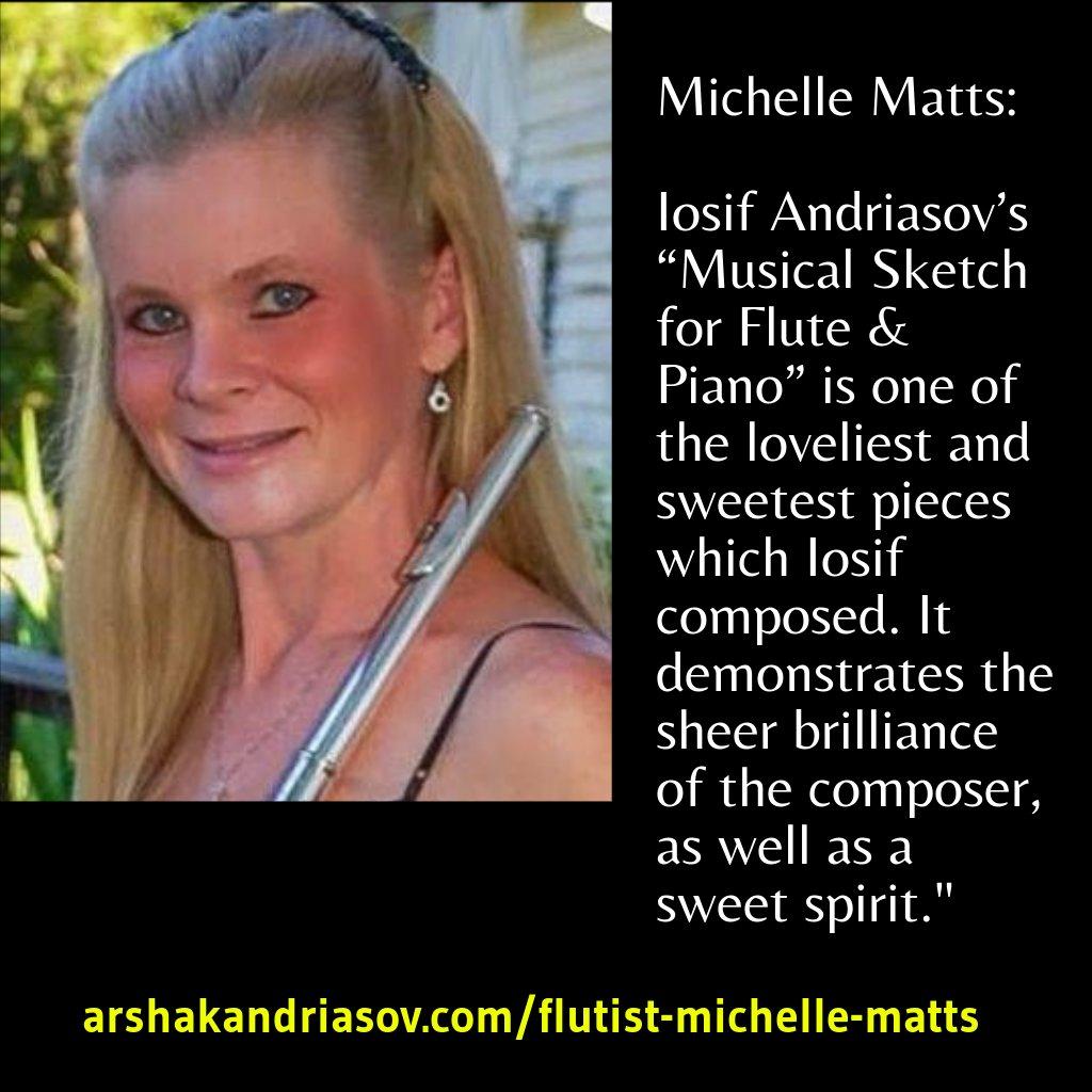 Flutist Michelle Matts