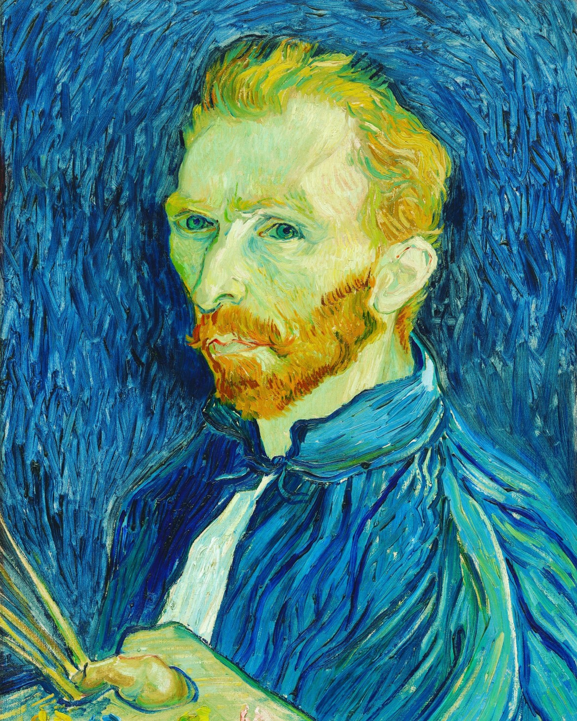 Vincent Van Gogh Self Portrait - 1889