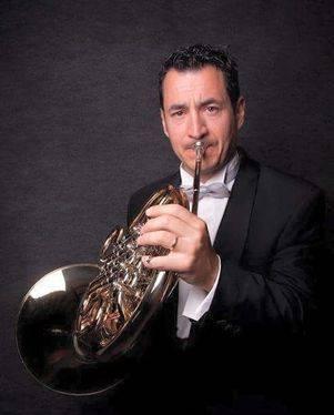 Horn Player Juan Carlos Sanmartin Rubio