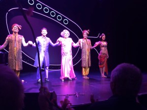 Saw Dame Edna's final tour at the Ahmanson.