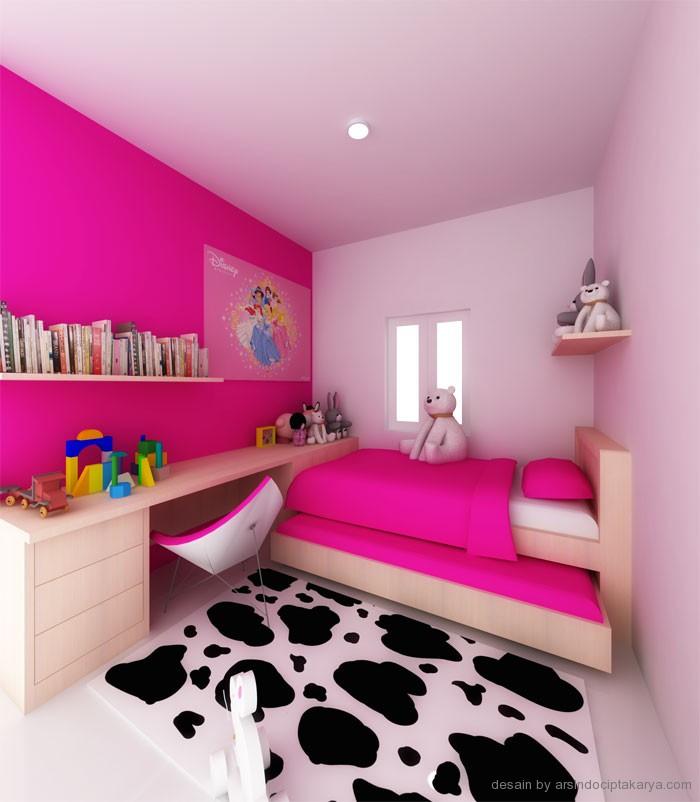 Desain Kamar Tidur Anak Perempuan Gambarrumahhcom  Holidays OO
