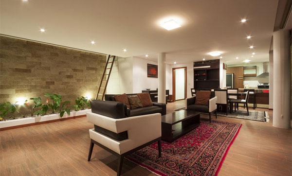 Desain Rumah Mewah 1 Lantai Dengan Ruangan Komplit