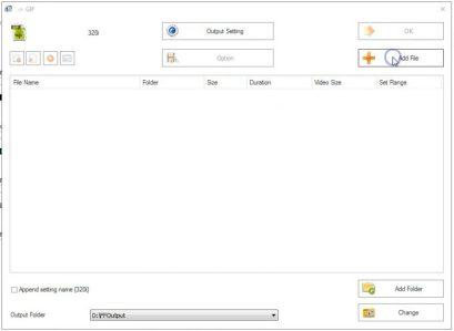 Klik ADD File untuk tambah file image