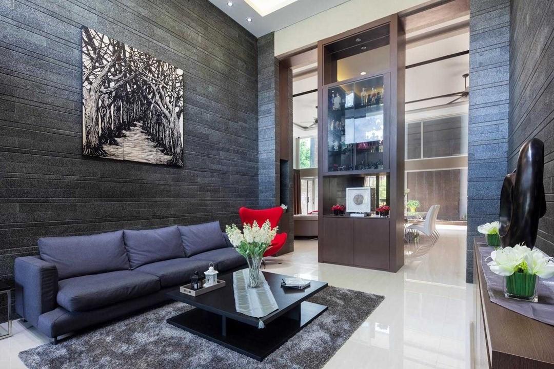 Inspirasi Desain Interior Ruang Tamu Sederhana Yang Elegan  ARSITAG