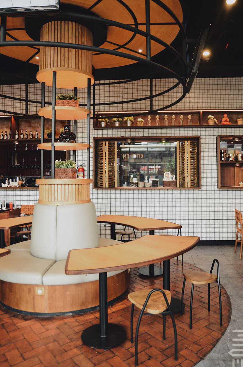 7109 Gambar  Inspirasi Desain Restoran Bernuansa Tradisional  Nyaman  ARSITAG