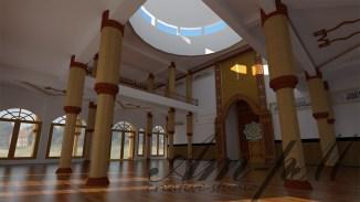 interior masjid tlogomas