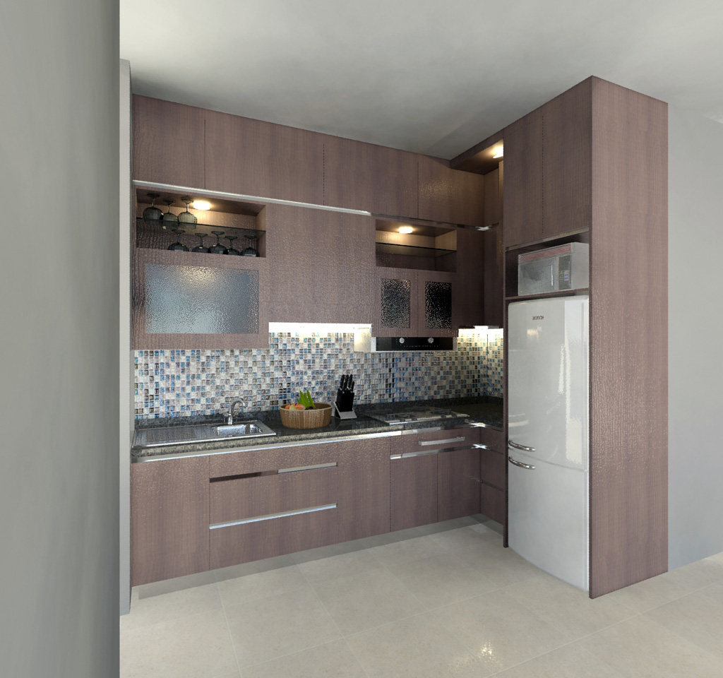 Proposal Desain Kitchen Set Ibu Prakash  Kebon Jeruk