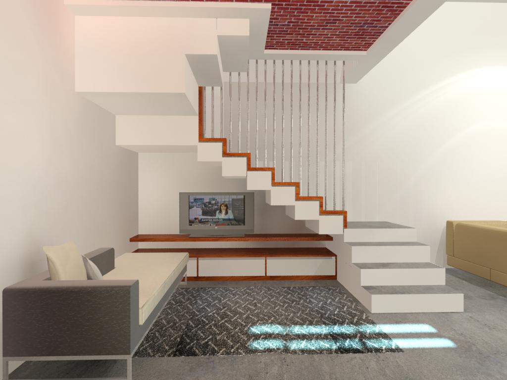 Desain Rumah Ruang Tamu Terpisah  Wallpaper Dinding