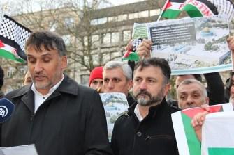 Belçika İslam Federasyonu : Kudüs Emlak değildir, Trump da noter değildir!