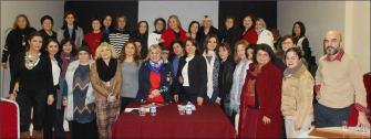 CHP BB Özbil Bıyıklı ile Belçika Türk Kadını'nın eğitim sorununu masaya yatırdı