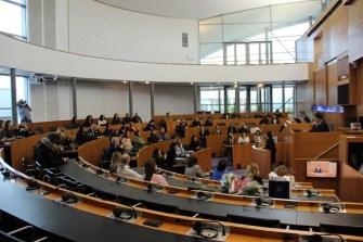 Brüksel Parlamentosu'nda Türk kadınları sorunlarını ele aldı