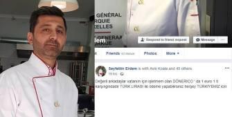 Belçikalı Türk esnaftan Türk lirasına destek kampanyası