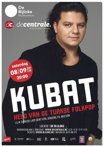 Kubat yeni abümü ile 8 Eylül'de Gent'te