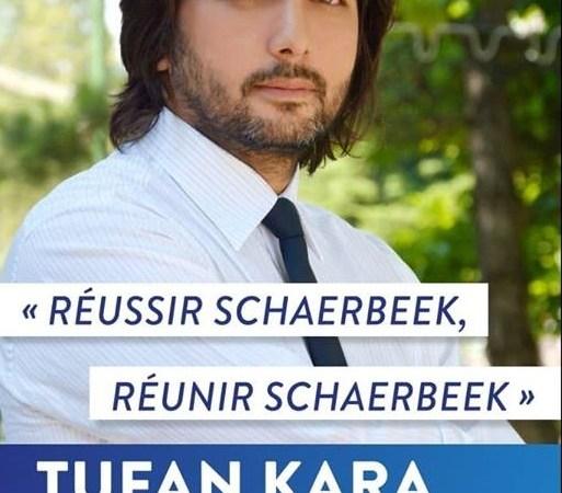 Schaerbeek Belediyesi MR listesi 3. Sıra bağımsız adayı Tufan Kara: Ülkeyi yöneten bir partinin listesinden aday olarak sorunların çözümüne katkıda bulunmak istiyorum