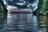 Längelmäveden mökkiranta.
