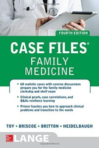Case Files Family Medicine 4th Edition